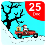 Download Christmas Santa Car Gift Delivery Racing Game 0.2 MOD APK Unlimited Cash