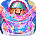 Download DIY Glitter Galaxy Slime Maker 1.0 MOD APK Unlimited Money