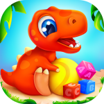 Download Dinosaur games for kids and toddlers 2 4 years old 1.5.2 APK MOD Unlimited Cash