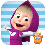 Download Full A Day with Masha and the Bear 3.1 MOD APK Unlimited Cash