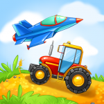 Download Full Kids Cars Games! Build a car and truck wash! 0.5.6 MOD APK Unlimited Gems