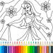 Download Full Princess Coloring Game 12.9.0 MOD APK Unlimited Gems