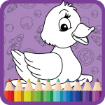 Download Kids Coloring Book : Coloring Fun 1.0.0.6 APK MOD Unlimited Gems