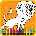 Download Kids Coloring Book : Cute Animals 1.0.0.9 APK MOD Unlimited Money