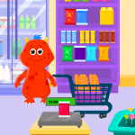 Download My Monster Town – Supermarket Grocery Store Games 1.11 APK MOD Unlimited Cash