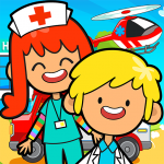 Download My Pretend Hospital – Kids Hospital Town Life 2.0 MOD APK Full Unlimited