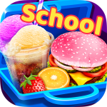 Download School Lunch Maker! Food Cooking Games 1.5 APK MOD Unlimited Money