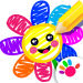 Download Toddler Drawing Academy🎓 Coloring Games for Kids 1.0.7.13 MOD APK Unlimited Gems