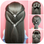 Download Full Hairstyles step by step for girls 1.8 MOD APK Full