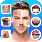 Download Full Handsome : Men Photo Editor, New Hairstyle for Men 1.1 MOD APK Unlimited Money