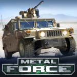 Download Full Metal Force: PvP Car Shooter 3.40.0 APK MOD Unlimited Cash
