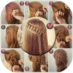 Download Hairstyles Step by Step DIY 1.6.1 MOD APK Full Unlimited