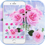 Download Pink Rose Love Theme 1.1.3 MOD APK Full
