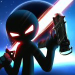 Download Stickman Ghost 2: Galaxy Wars – Shadow Action RPG 6.6 APK MOD Full Unlimited