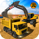 Best Heavy Excavator Crane – City Construction Sim 2017 1.0.8 MOD APK Full