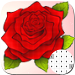 Get Flower Coloring By Number-PixelArt 17.3 APK MOD Unlimited