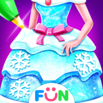 Download Ice Princess Comfy Cake -Baking Salon for Girls 1.4 APK MOD Full